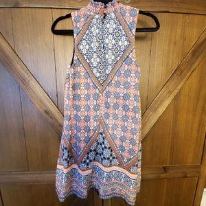 Dresses & Skirts - Mock neck short shift dress
